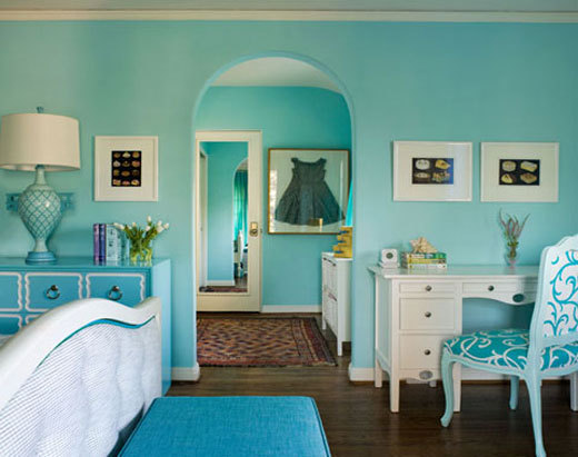 monochromatic rooms the audacity of color
