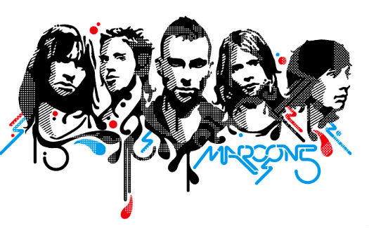 maroon five coloring pages - photo#7