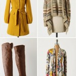 Antropologie Winter Wear