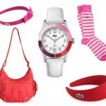 Lacoste Red and Pink Accessories