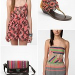 UO Ecote rompers shoes and bags