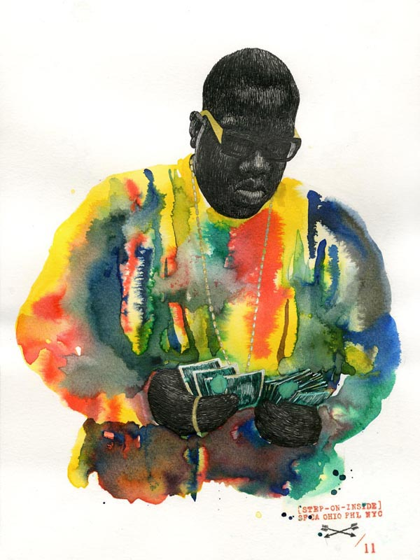 Biggie Painting beautiful paintingsketch